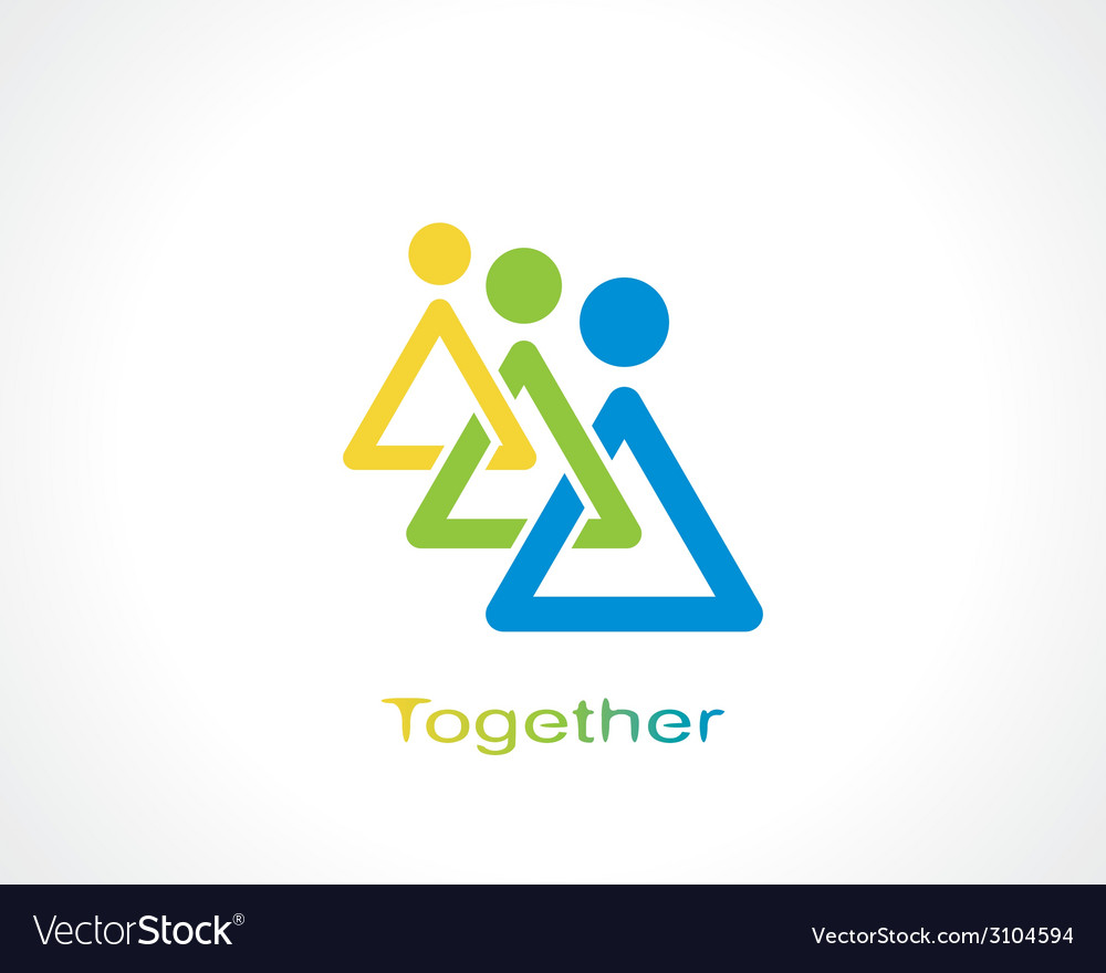 Together vector | Price: 1 Credit (USD $1)