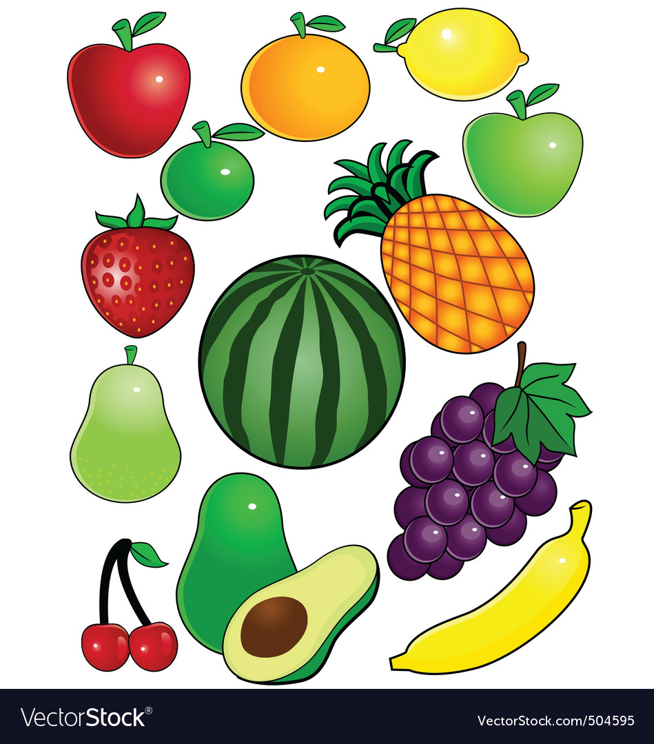 Fruit vector | Price: 1 Credit (USD $1)