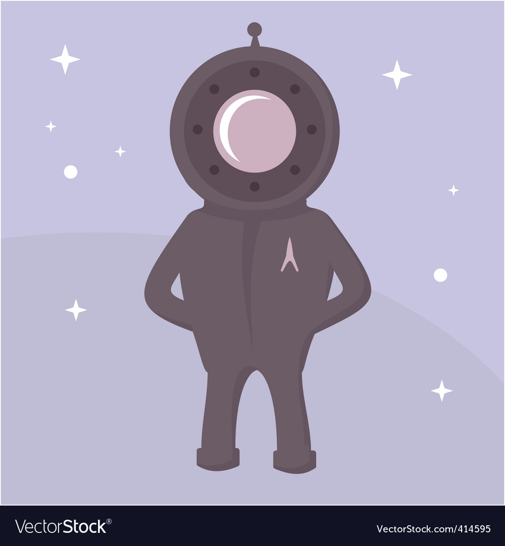 Spaceman vector | Price: 1 Credit (USD $1)