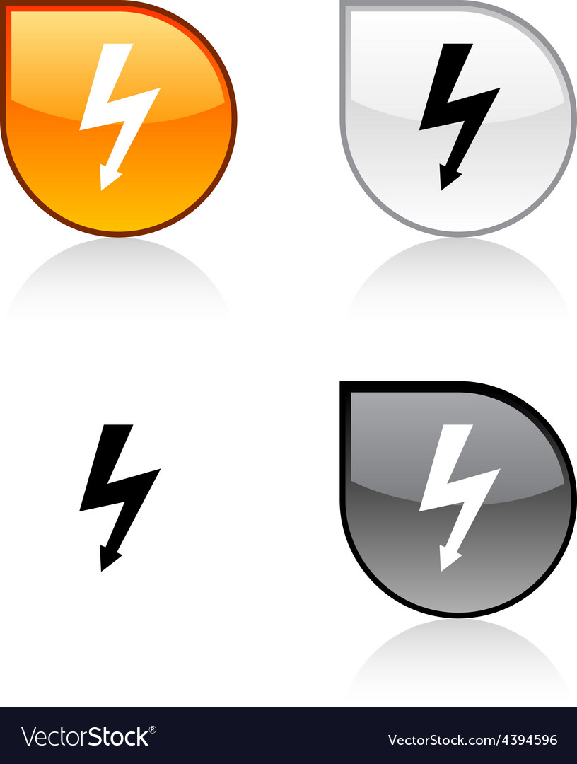 Warning button vector   Price: 1 Credit (USD $1)