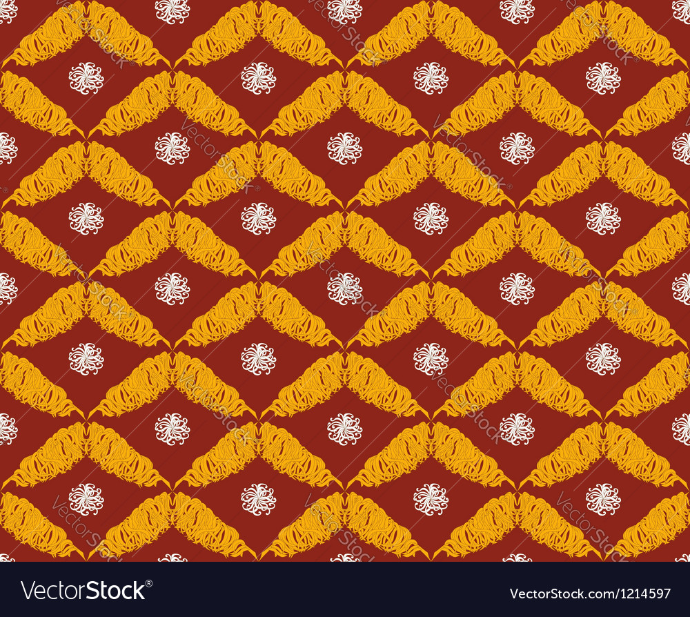 Seamless pattern in oriental style vector | Price: 1 Credit (USD $1)