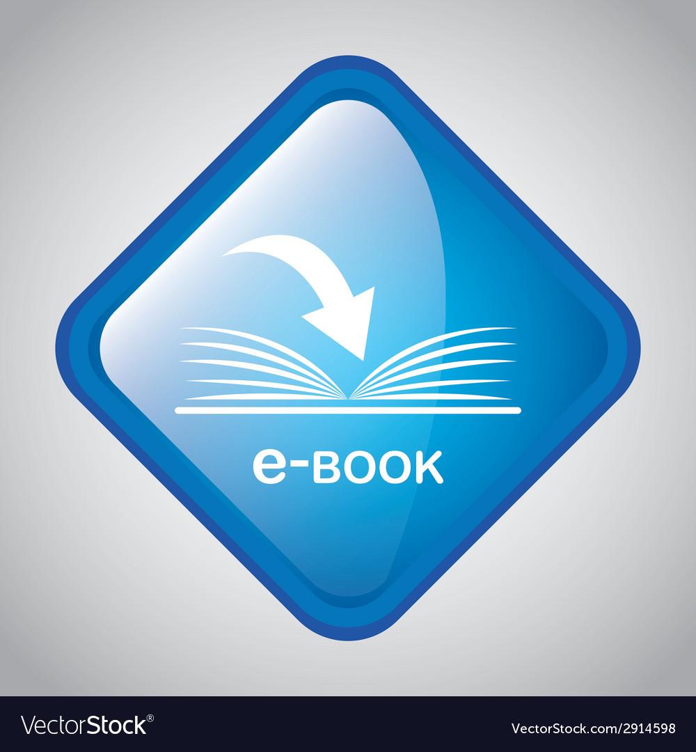 Ebook icon vector   Price: 1 Credit (USD $1)