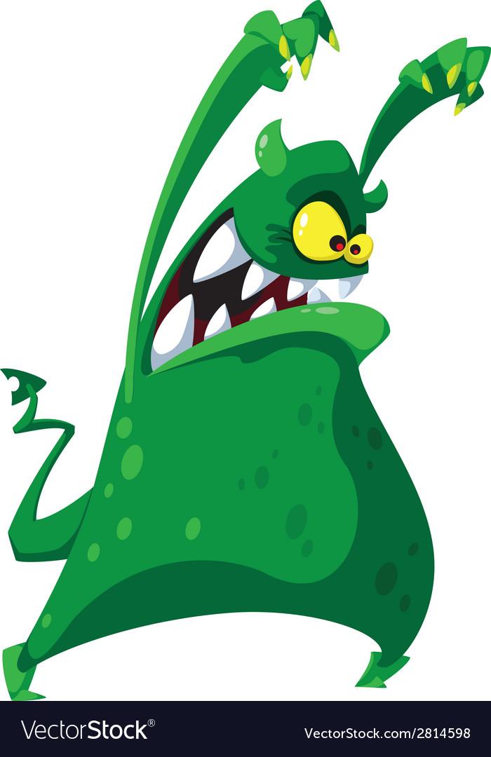 Nightmarish monster vector | Price: 3 Credit (USD $3)