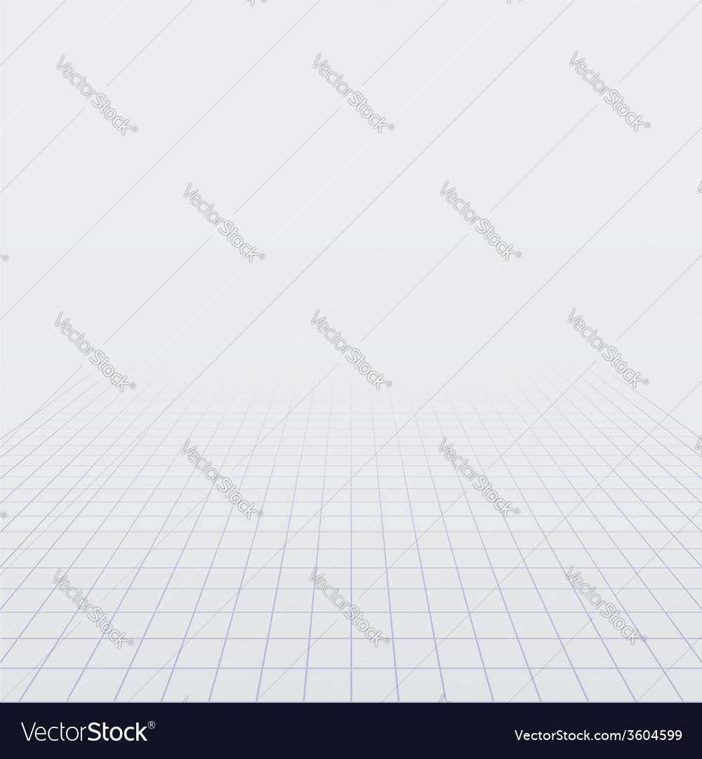 Background with perspective grid vector | Price: 1 Credit (USD $1)