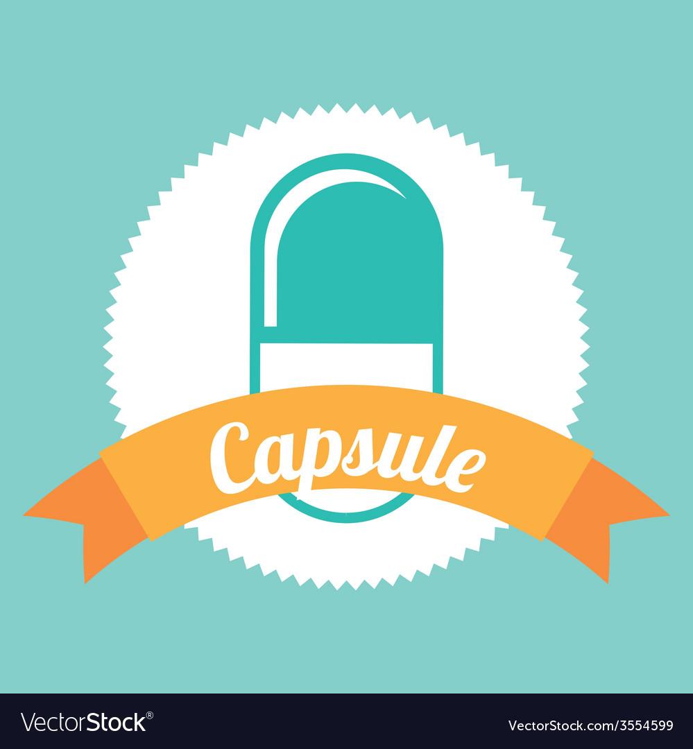 Capsule icon vector | Price: 1 Credit (USD $1)