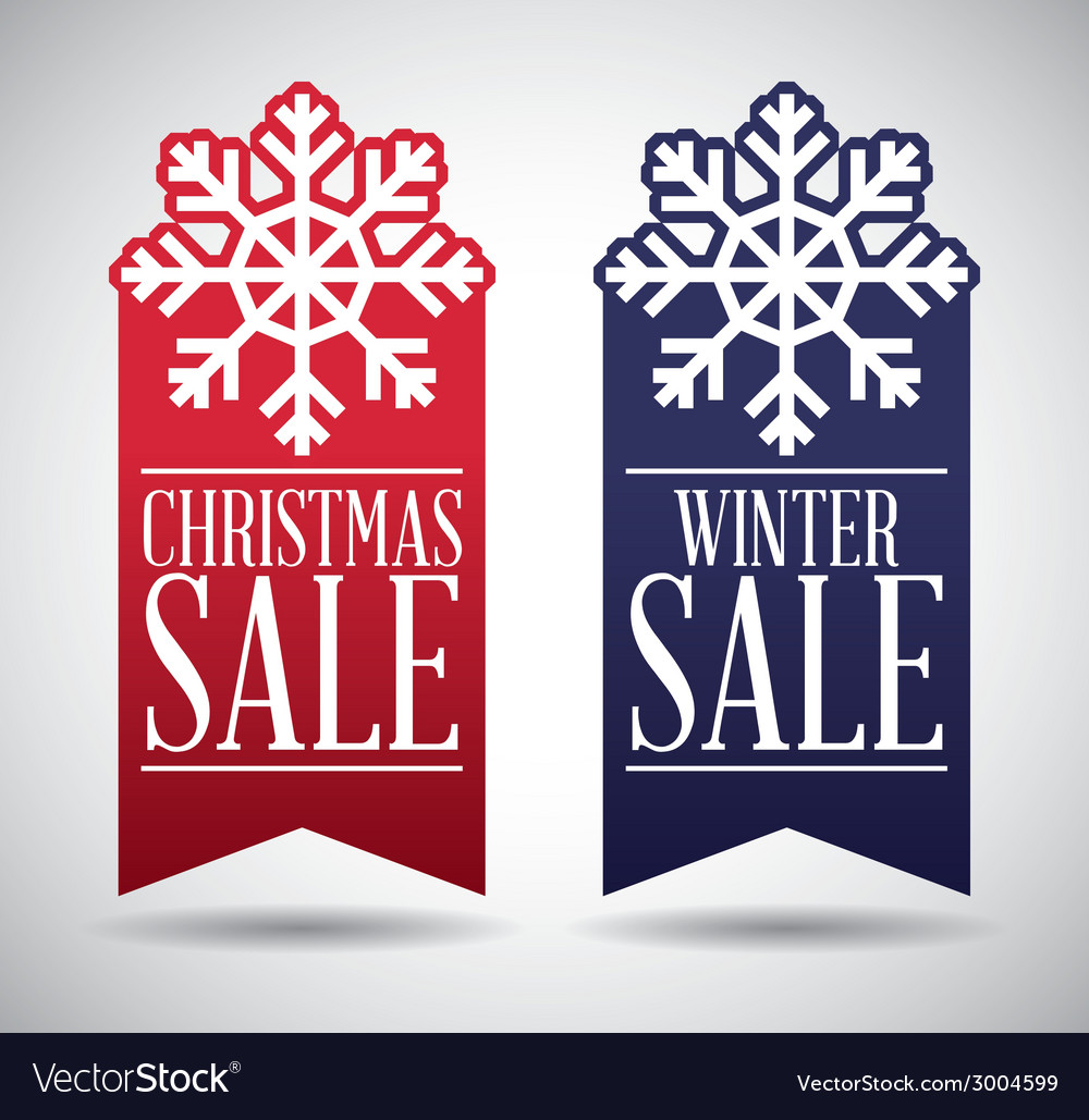 Christmas sale design vector | Price: 1 Credit (USD $1)
