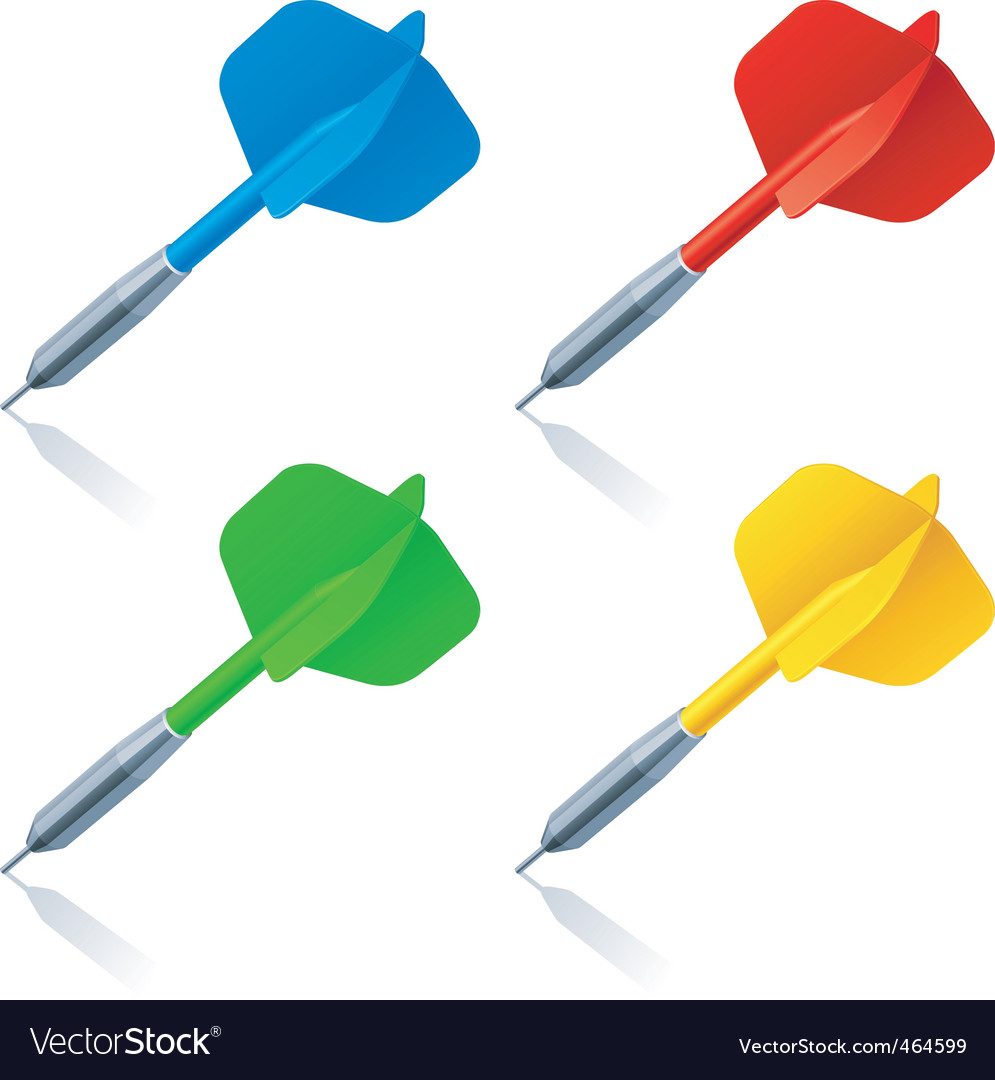 Darts vector | Price: 3 Credit (USD $3)