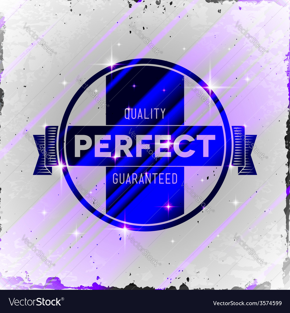 Vintage styled label with glitters vector   Price: 1 Credit (USD $1)