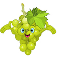 Cartoon grape character vector