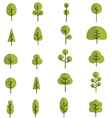 Tree collection 3 vector
