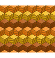 Honey themed cubes seamless pattern vector