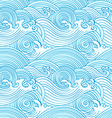 Japanese seamless waves vector