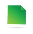 Green reminder vector