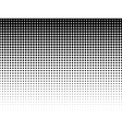 Halftone background black-white vector