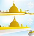 Vatican background vector