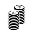 Money con stack vector