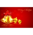Christmas bauble and bell vector