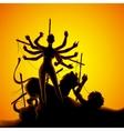 Durga puja vector