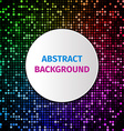 Abstract dot background vector