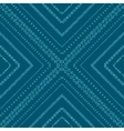 Original drawing tribal doddle rhombus vector