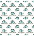 Seamless pattern with easter rabbit vector