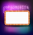 Retro vintage frame banner promotion vector