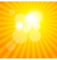 Sun sunburst pattern vector