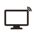 Computer monitor symbol vector