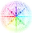 Dots digital form vector