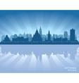 Ottawa canada skyline silhouette vector