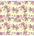 Seamless pattern with beautiful roses vector