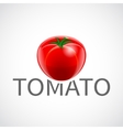 Tomato realistic poster vector