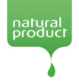 Conceptual drop of the natural product vector