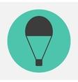 Parachute icon vector