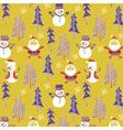 Santa winter wallpaper vector