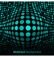 Abstract blue - green technology background vector