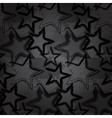 Grunge rock star background brush smear stars vector