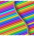 Color pencil pattern vector