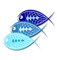 Design for business fish vector