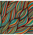 Hand-drawn waves texture wavy background backdrop vector