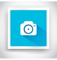 Icon of camera for web and mobile applications vector