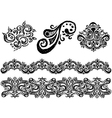 Ornament line vector