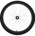 Bicycle wheel vector