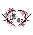 Floral elements wedding vector