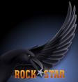 Rock star vector
