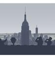 New york tourism vector