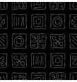 Scratched symbols vector
