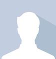 Male avatar profile picture silhouette light vector