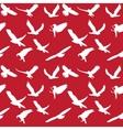 Eagle symbol set seamless pattern  eps 10 vector