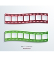 Modern film background vector